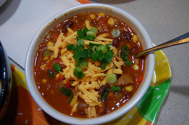 Skip the meat and try delicious and filling vegetarian chili