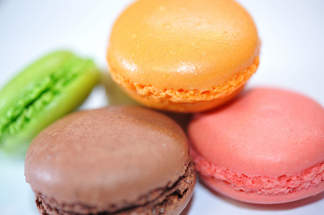 Macarons can be just the thing to brighten the day at your office