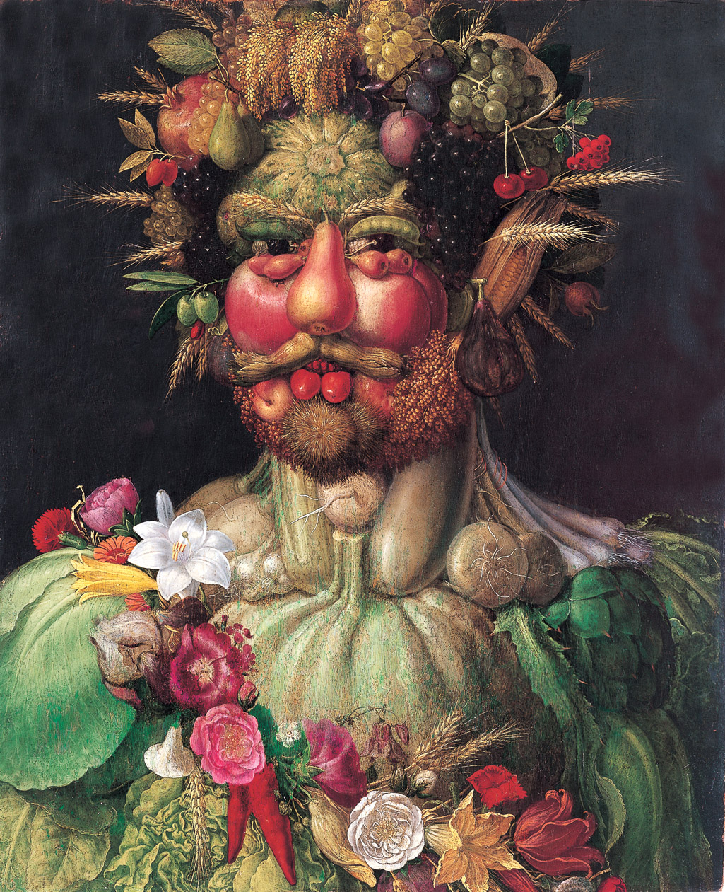You Are What You Eat: Painting by Giuseppe Arcimboldo
