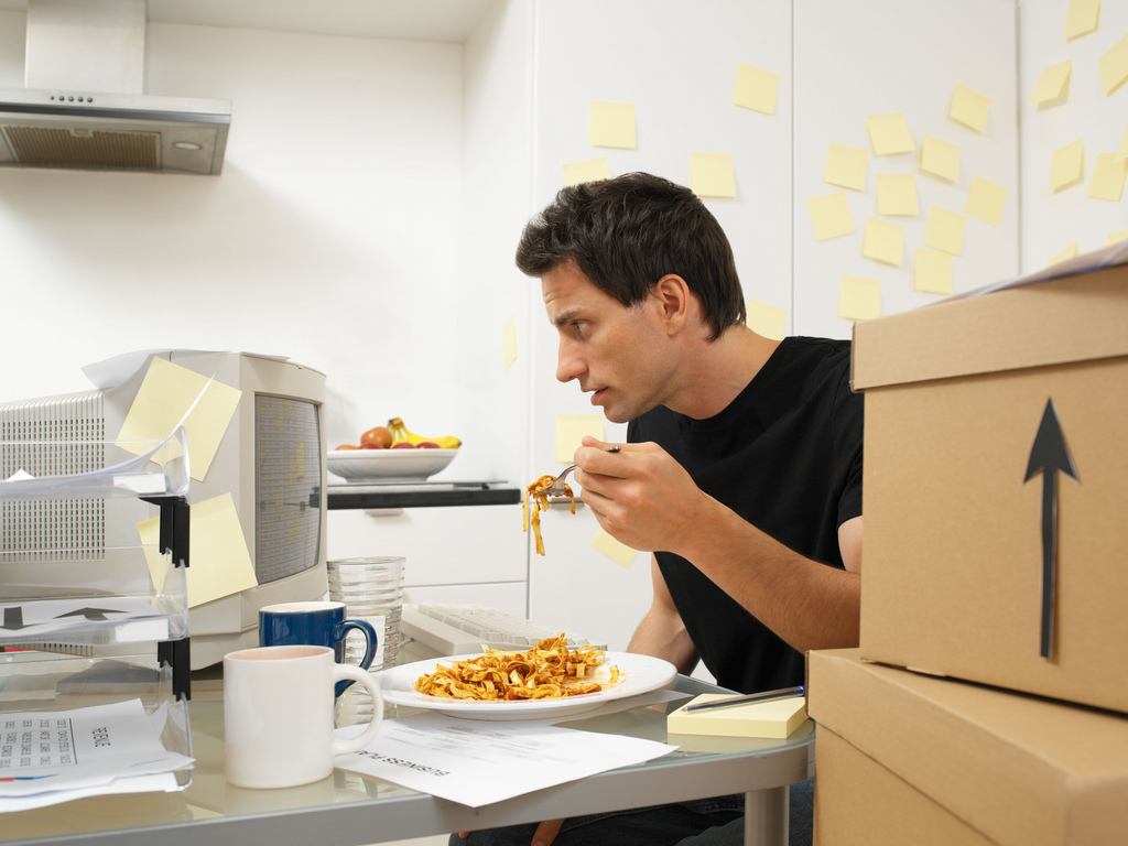 Mindless Eating At Work Put Down The Bag Of Pretzels