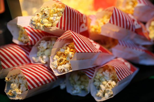popcorn servings