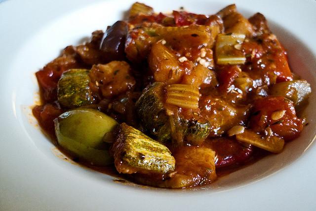 caponata sicilian specialty