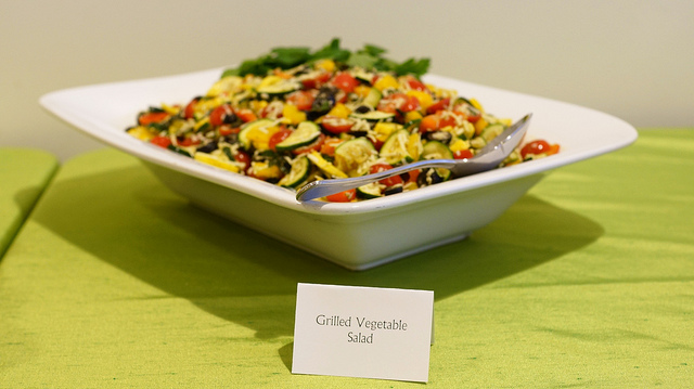 healthy catering vegetables