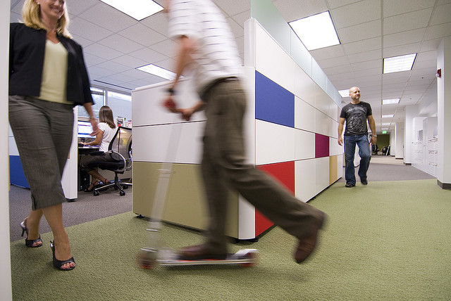 promote play in the office and provide healthy office snacks