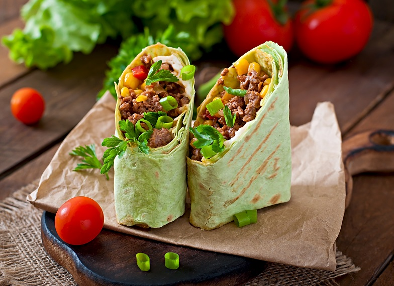 cater with delicious wraps for lunch in Palo Alto
